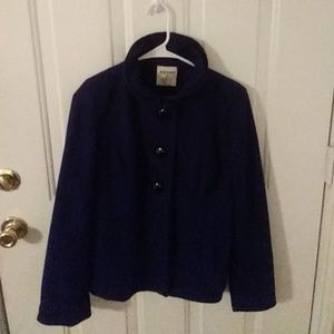 Old Navy 3 Button Wool Coat
